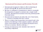 international investment and economic growth34