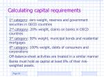 calculating capital requirements21