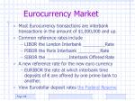 eurocurrency market
