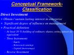 conceptual framework classification26