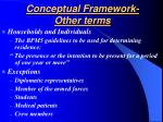 conceptual framework other terms21