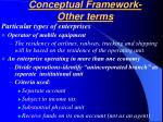 conceptual framework other terms23