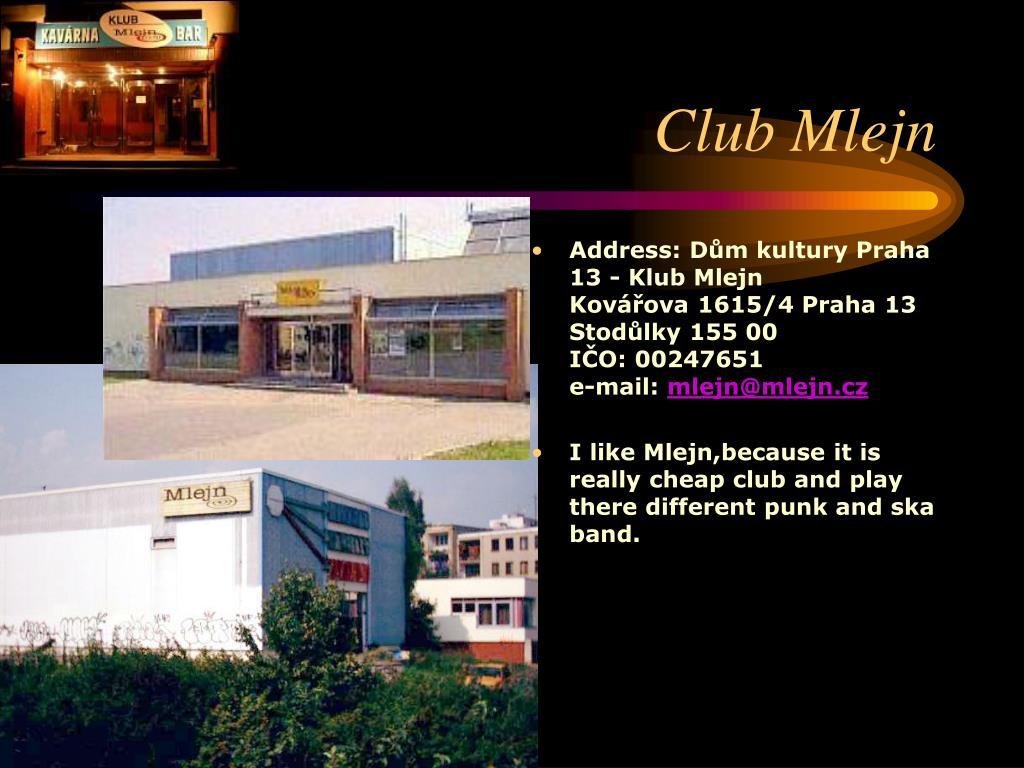 Club Mlejn