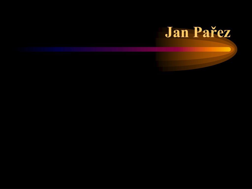 Jan Pařez