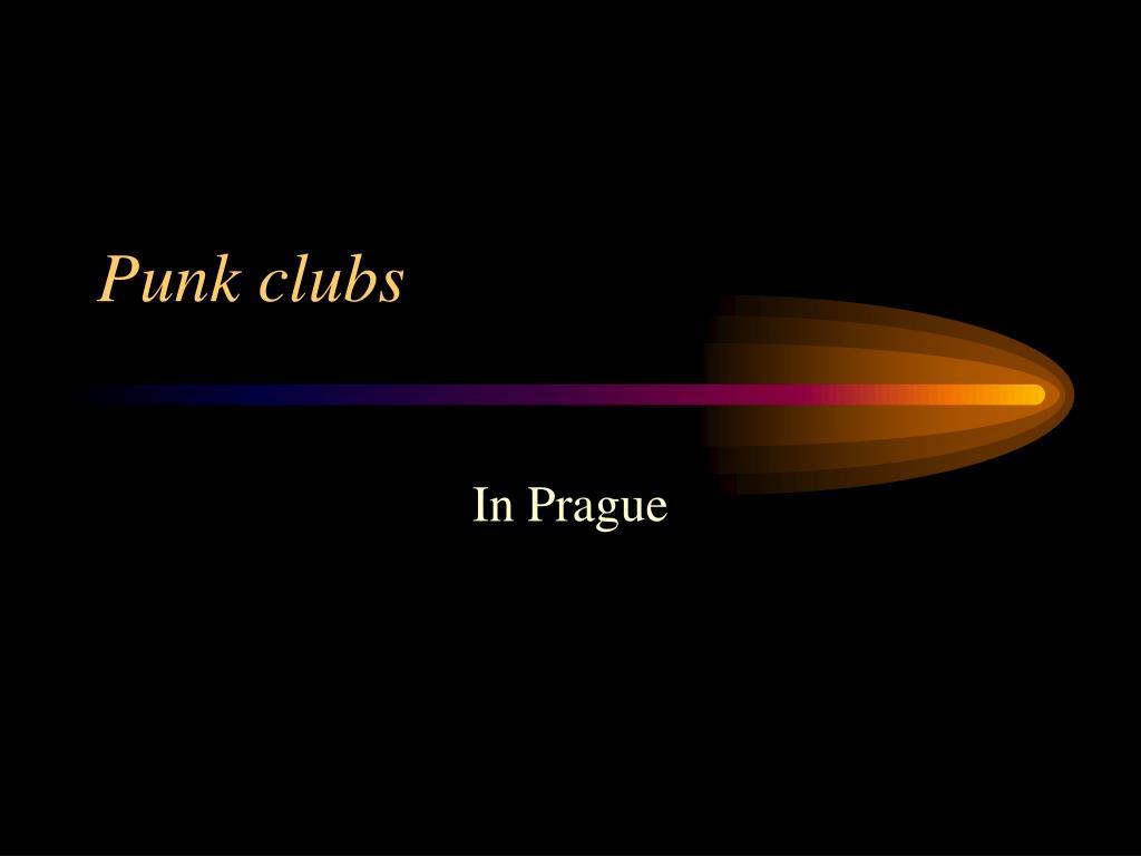 Punk clubs