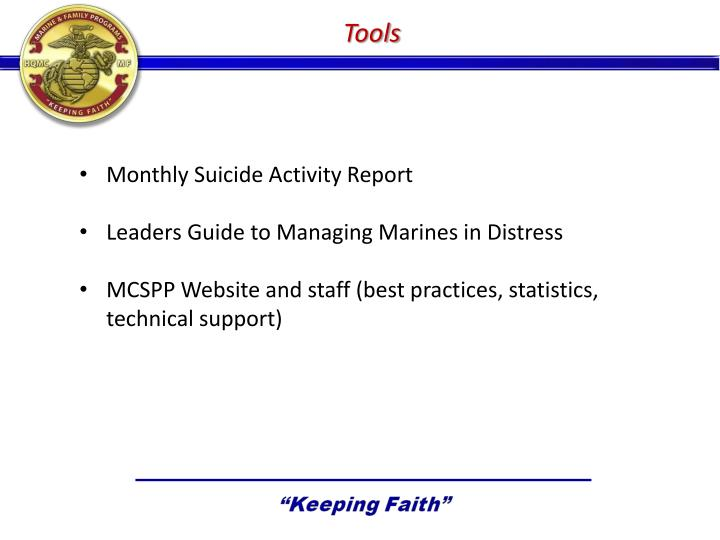 Ppt Marine And Family Programs Marine Corps Suicide