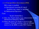 2 1 2 foreign direct investment fdi