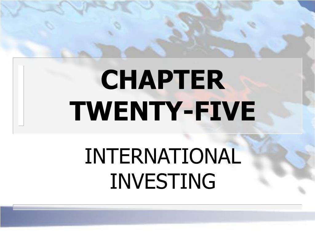 chapter twenty five l.