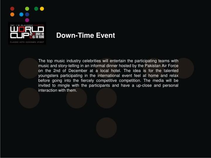 Down-Time Event