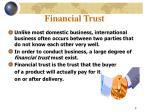 financial trust