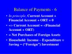 balance of payments 6