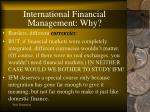 international financial management why10