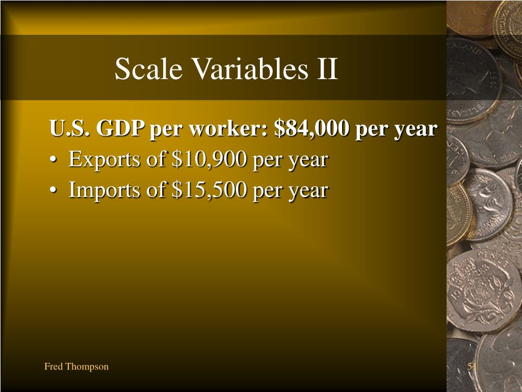 Scale Variables II