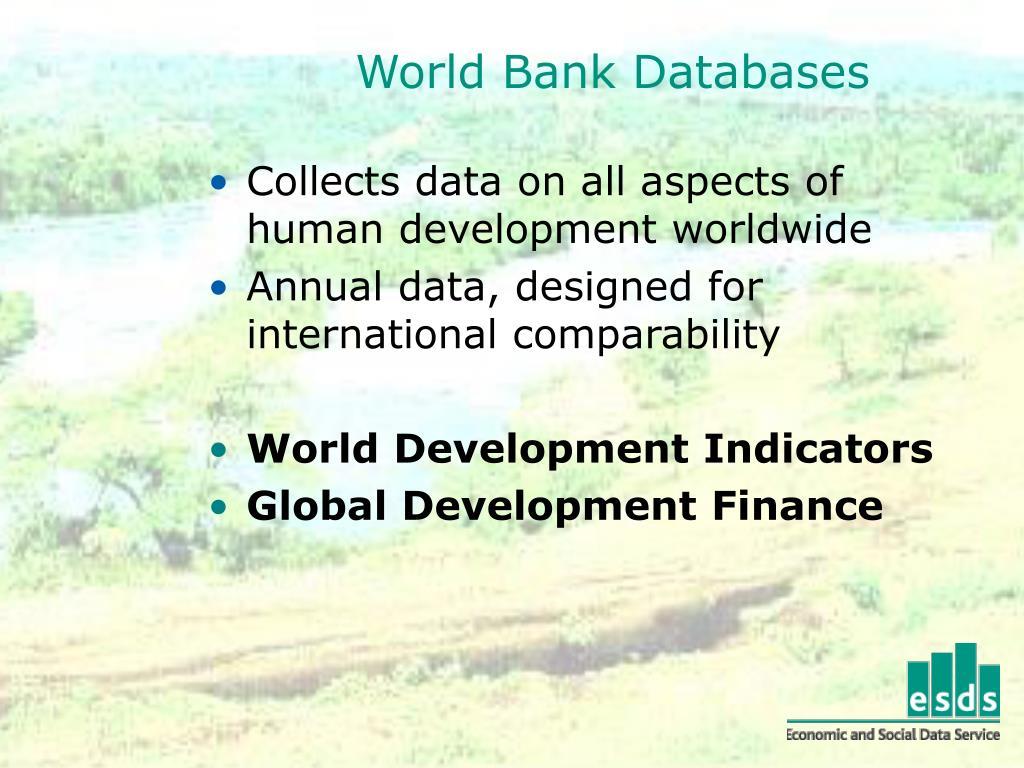 World Bank Databases