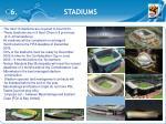 6 stadiums