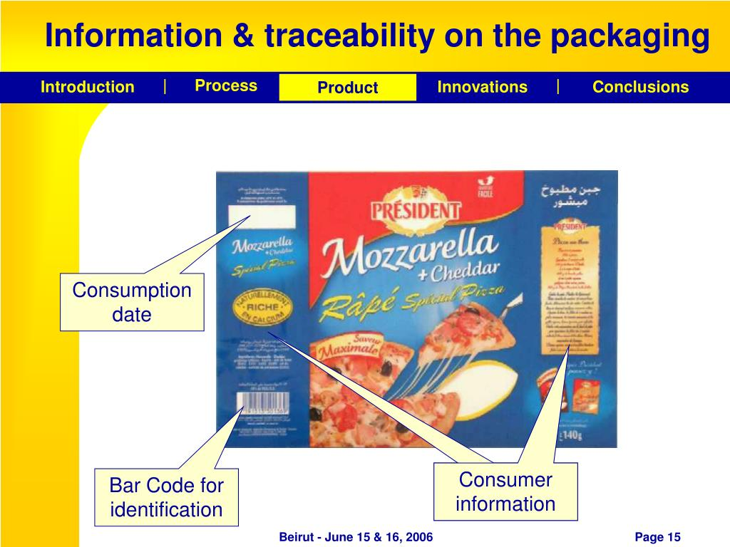 modeling the traceability information in food Next, information about food traceability in each country was acquired through subject matter experts and internet search of published information to identify the required data for each of the assessment questions within  the adaptation of the state-pressure-response model used by the oecd to benchmark this model has 3 components: 1 state.