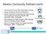 beacon community partners cont