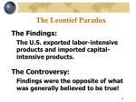 the leontief paradox12