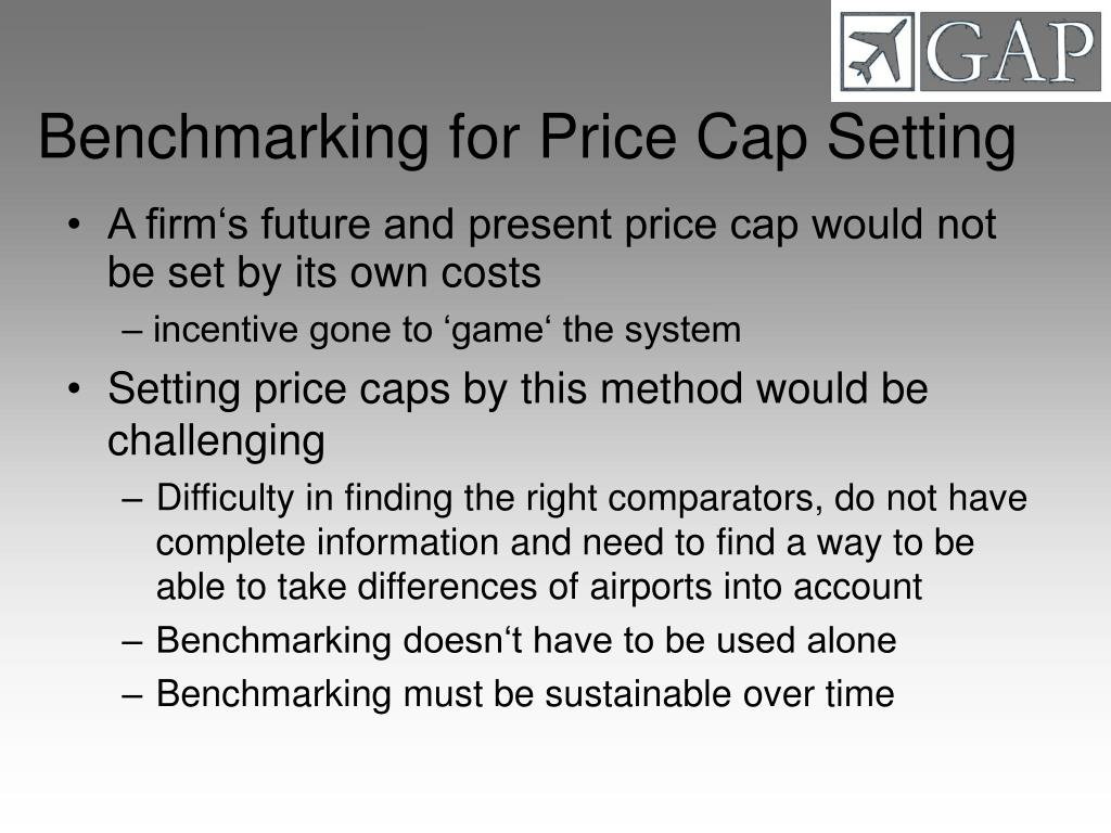 Benchmarking for Price Cap Setting