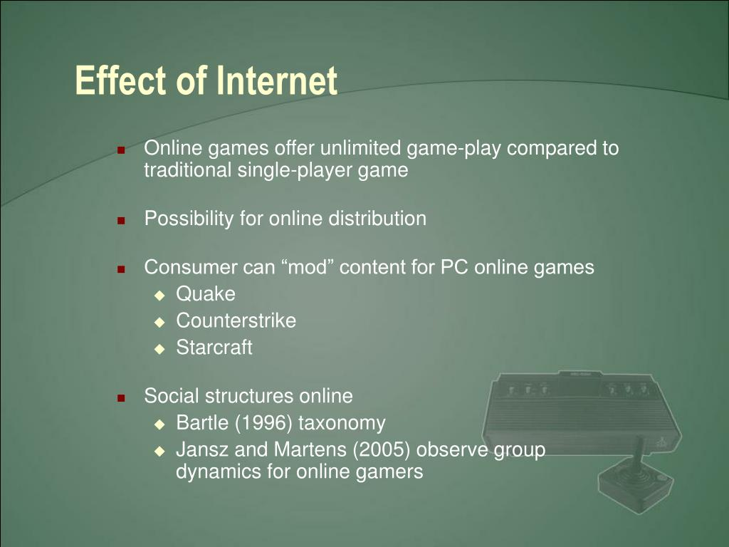 Effect of Internet