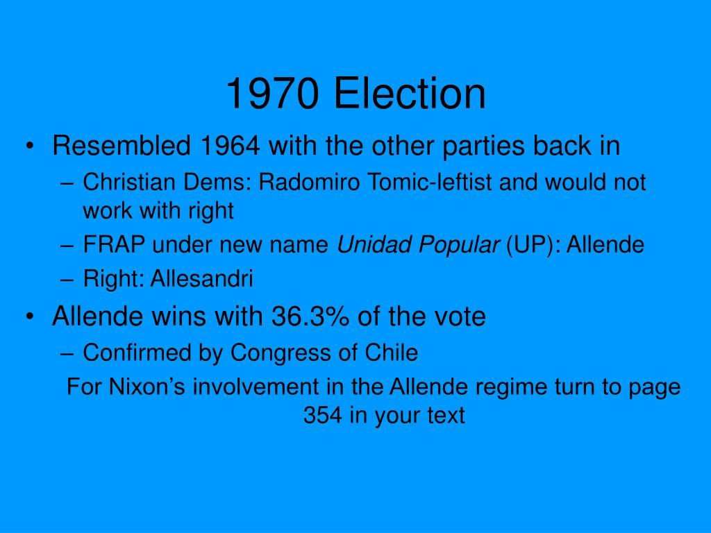 1970 Election