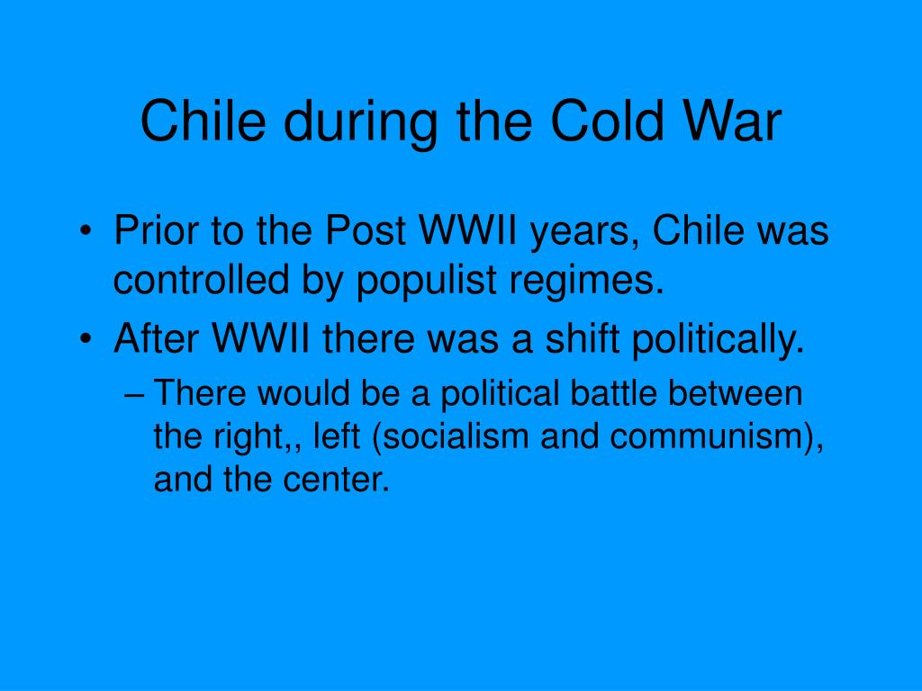 Chile during the Cold War