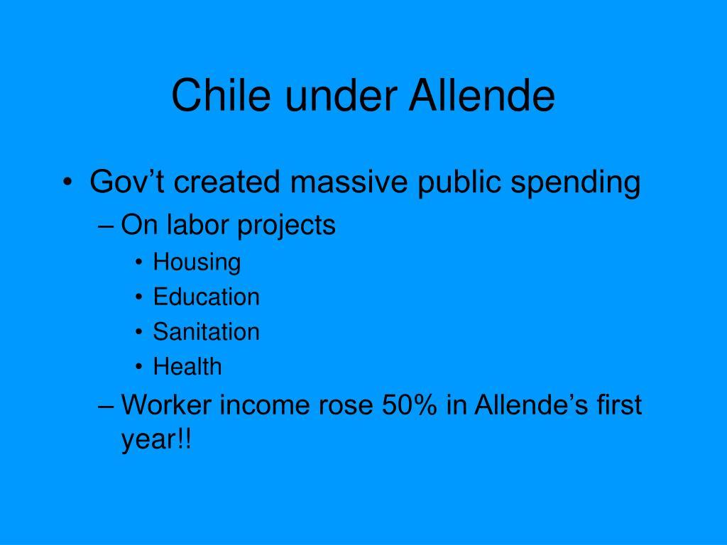 Chile under Allende