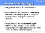egg multi channel analysis