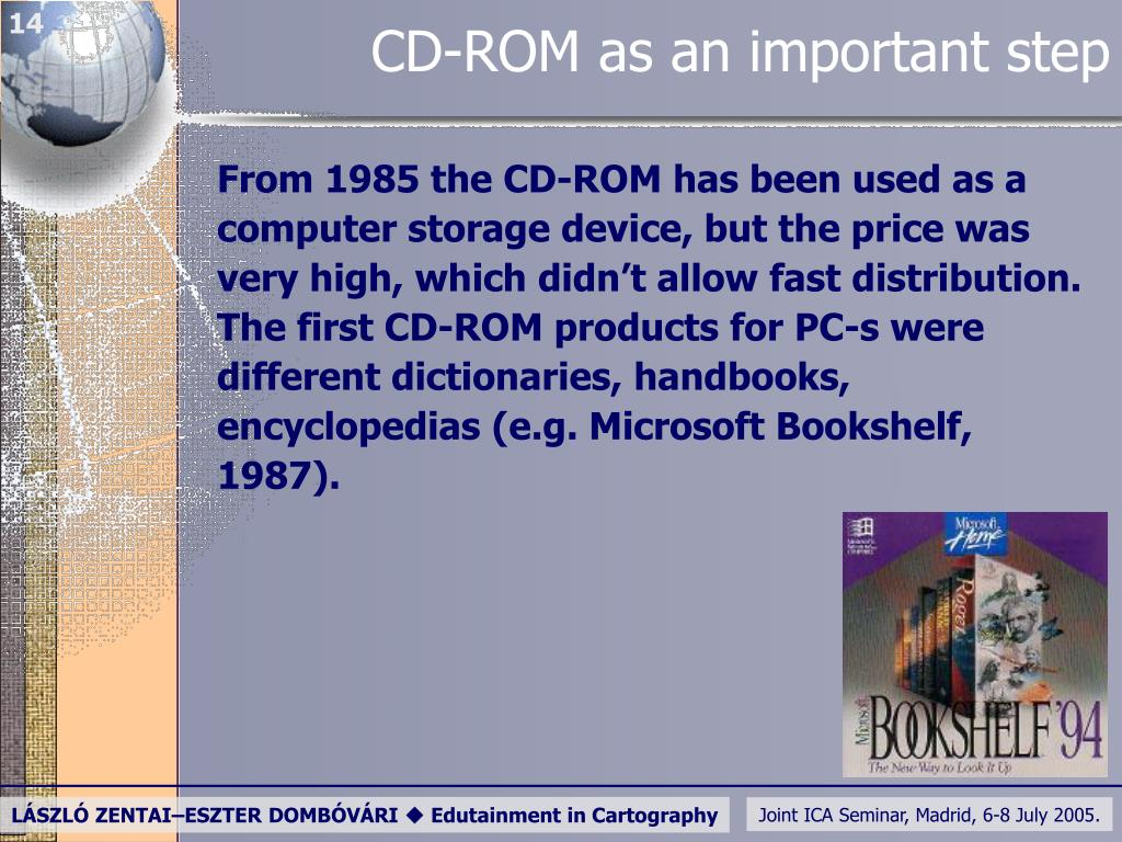 CD-ROM as an important step