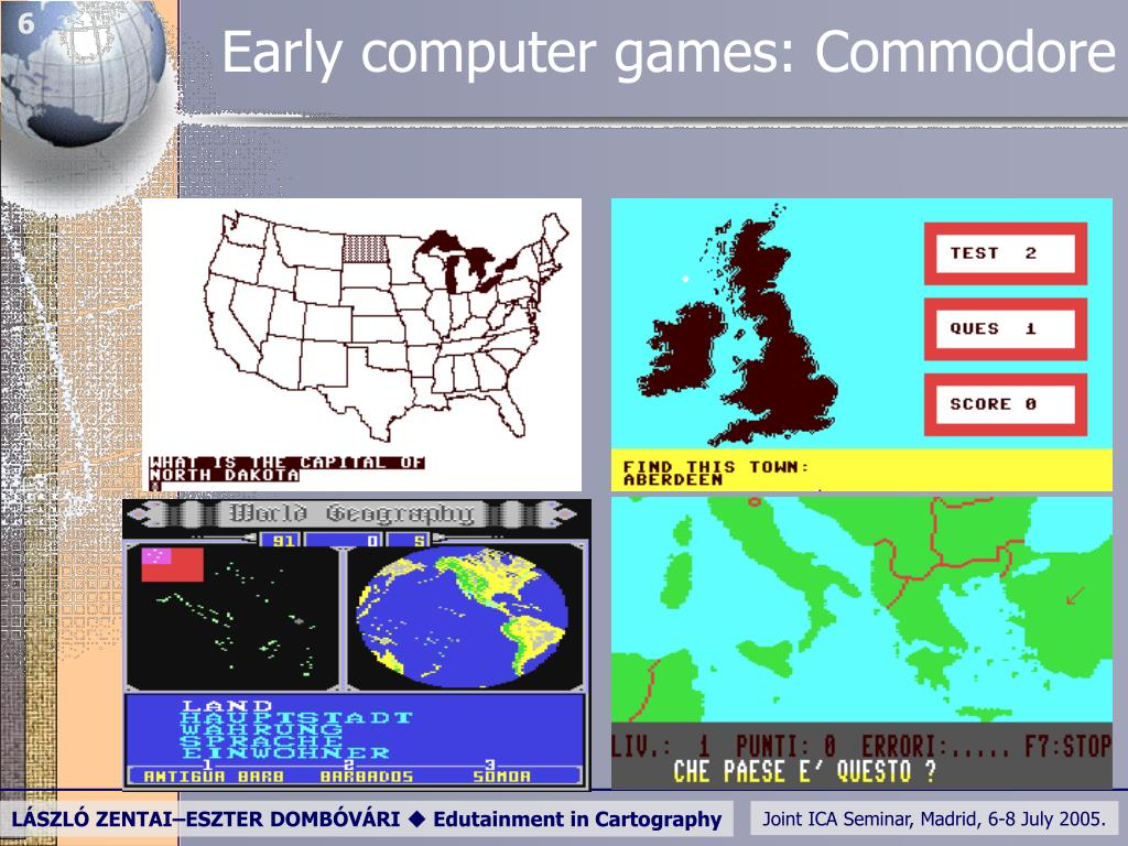 Early computer games