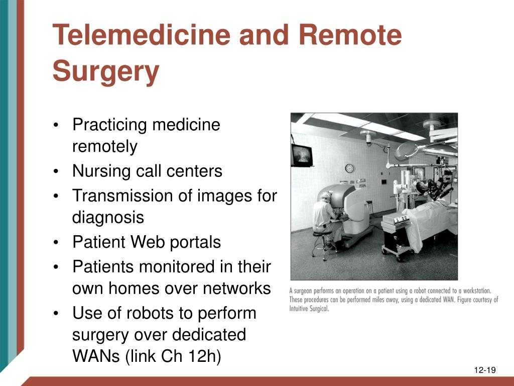 Telemedicine and Remote Surgery