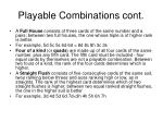 playable combinations cont13