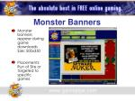 monster banners