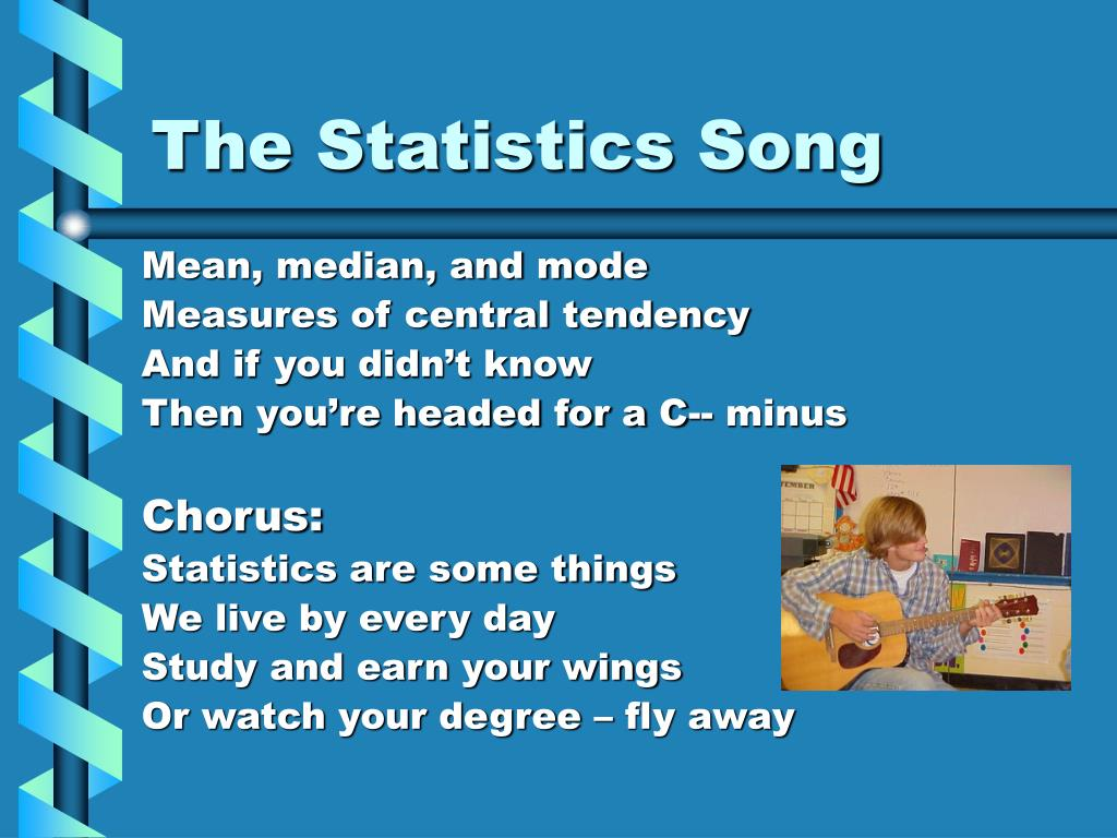 The Statistics Song