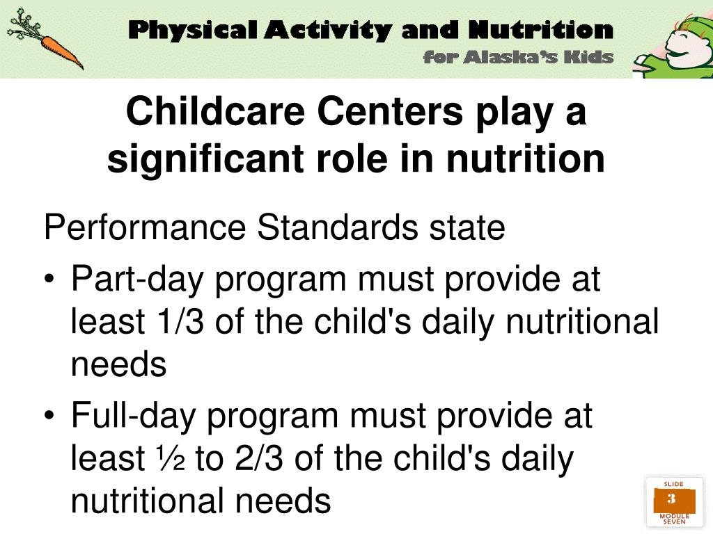 Childcare Centers play a