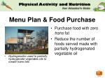 menu plan food purchase32