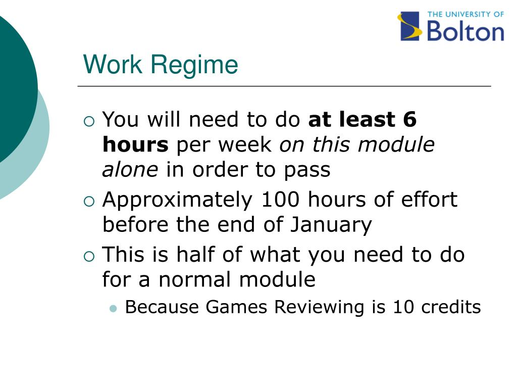 Work Regime