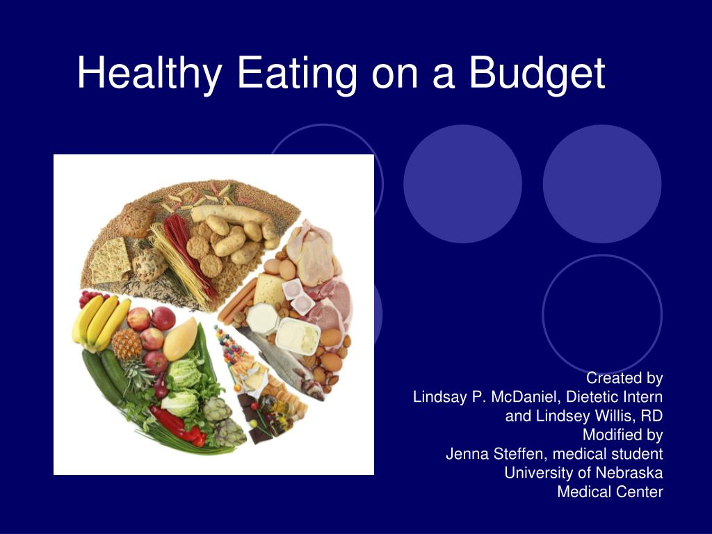 healthy eating on a budget l.