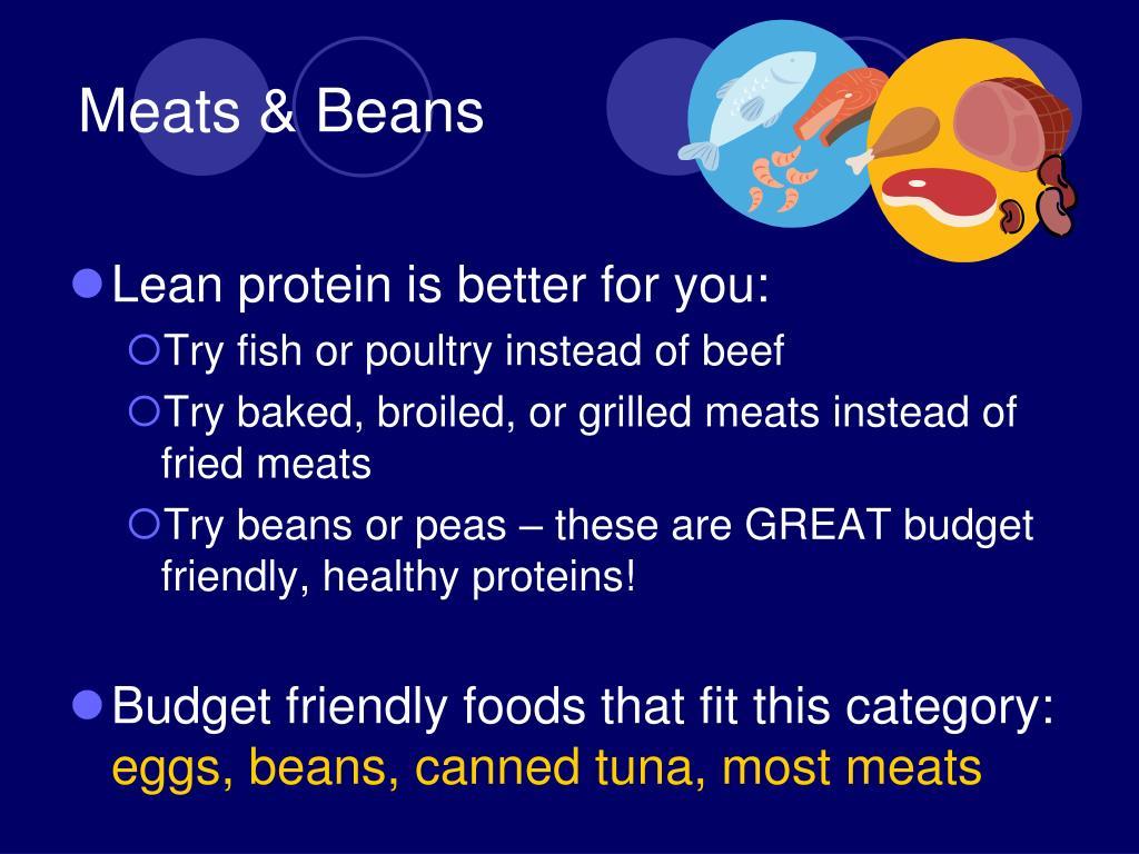 Meats & Beans