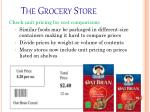 the grocery store60