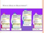 which milk is healthiest