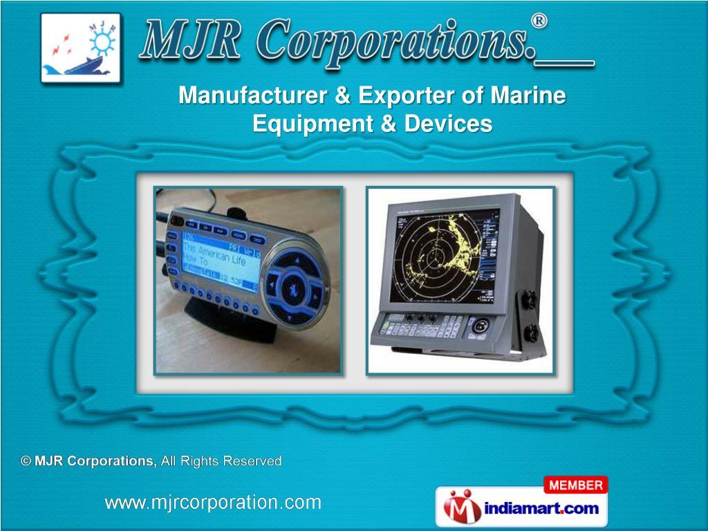 Manufacturer & Exporter of Marine