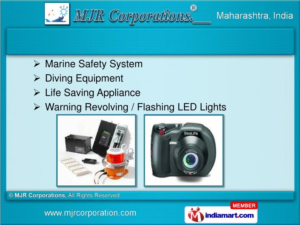 Marine Safety System