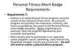 personal fitness merit badge requirements12