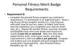 personal fitness merit badge requirements14