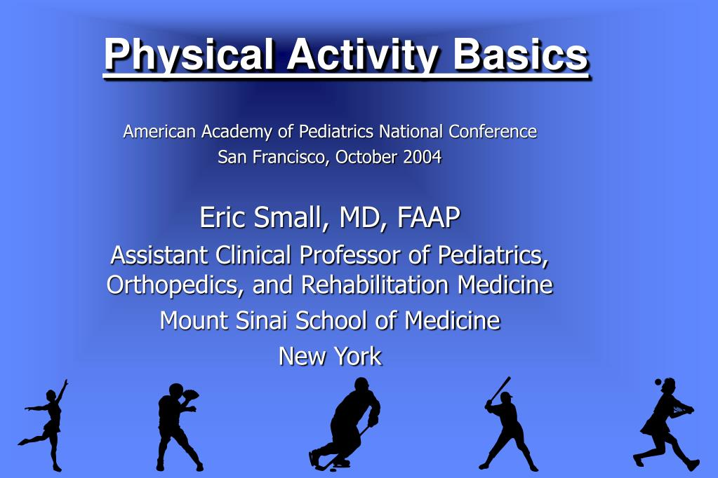 physical activity basics l.