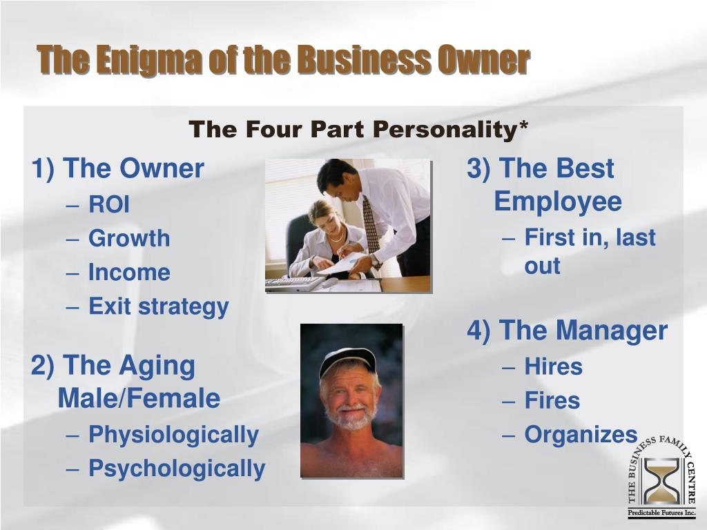 The Enigma of the Business Owner