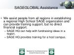 sageglobal assistance