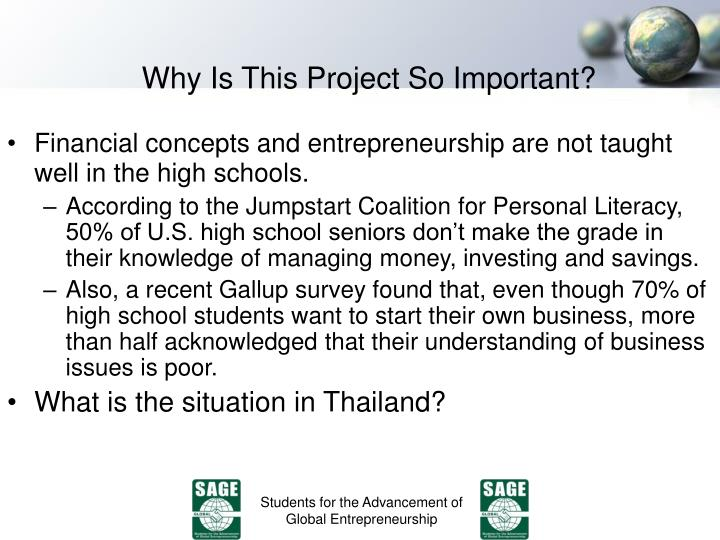 Why Is This Project So Important?