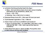 fss news